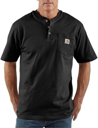 Carhartt Workwear Pocket Short-Sleeve Henley Shirt - Men's