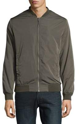 Selected Smooth Bomber Jacket