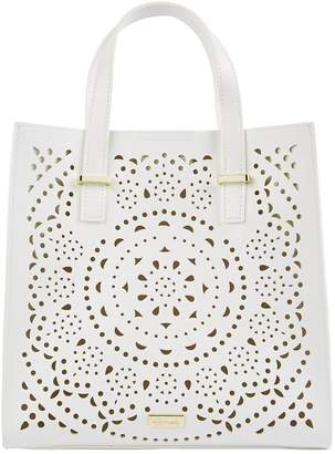 Harrods Cutwork Tote Bag