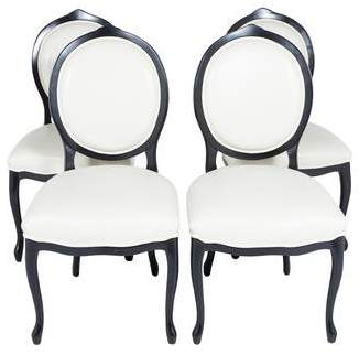 Oval Dining Chair Set