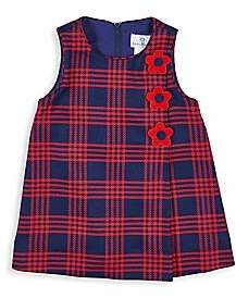 Florence Eiseman Baby's & Little Girl's Double Plaid Sleeveless Dress