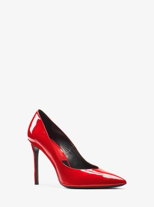 Michael Kors Muse Patent Leather Pump