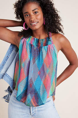 Conditions Apply Prismatic Blouse