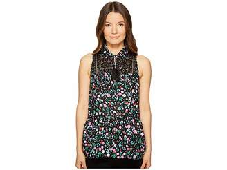 Kate Spade Greenhouse Lace Yoke Top Women's Clothing