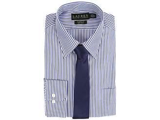 Lauren Ralph Lauren Bengal Stripe Spread Collar Classic Button Down Shirt Men's Long Sleeve Button Up
