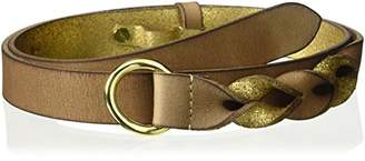 House of Boho Twisted Pull-Back 100% Leather Belt