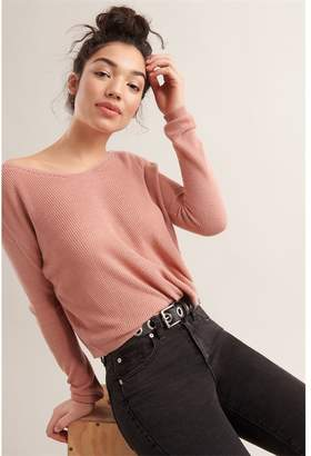 Garage Off The Shoulder Sweater