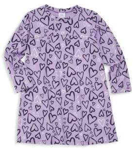 Little Girl's & Girl's Edina Hearts Dress