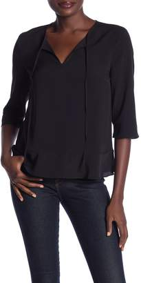 French Connection 3/4 Sleeve Blouse