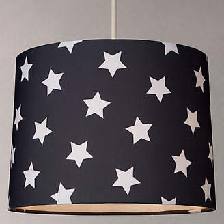 John Lewis & Partners little home at Star Lampshade, Navy