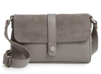 Treasure & Bond Joni Suede & Leather Crossbody Bag