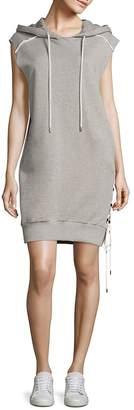 Public School Women's Loren Cotton French Terry Hooded Dress