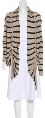 AllSaints Stripe Long Sleeve Cardigan