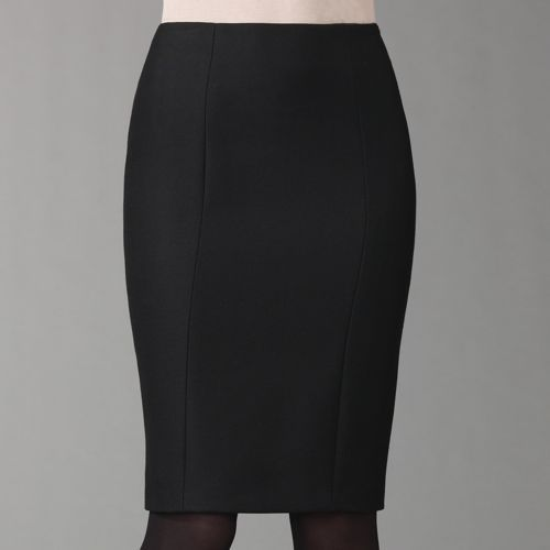 Ralph Lauren Black Label Janine Crepe Pencil Skirt
