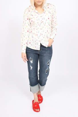 Liverpool Jeans Company Wide Cuff Crop