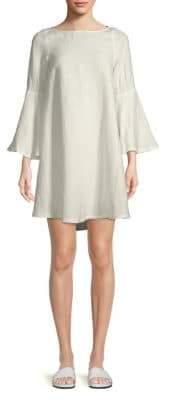 Rachel Pally Aemon Linen-Blend Boatneck Dress