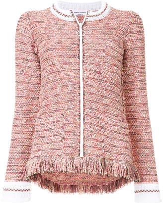 Sonia Rykiel fringed tweed jacket