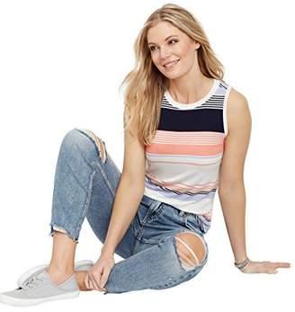 Silver Jeans Co. Women's Sam Mid Rise Boyfriend Jeans