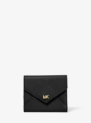 Michael Kors Medium Pebbled Leather Envelope Wallet