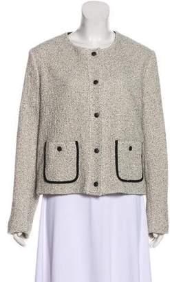Rag & Bone Button-Up Textured Jacket