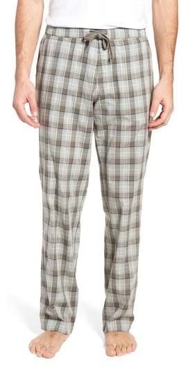 Flynn Plaid Cotton Lounge Pants