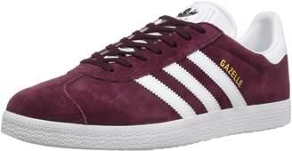 adidas Men's Gazelle Lace-up Sneaker,Collegiate Royal/White/Gold Met