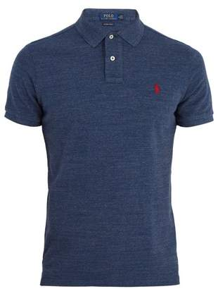 Polo Ralph Lauren - Custom Slim Fit Cotton Piqué Polo Shirt - Mens - Grey Multi