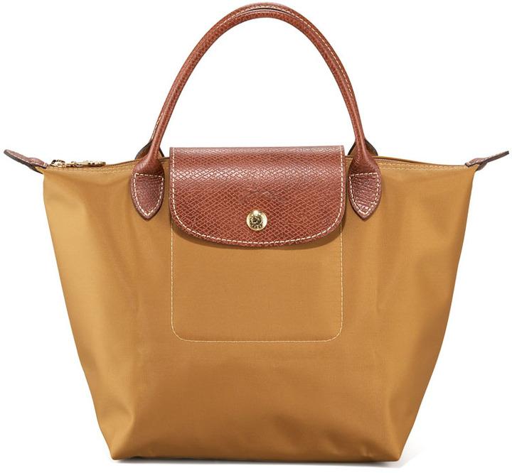 Longchamp Le Pliage Handbag, Camel