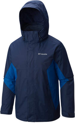 Columbia Big and Tall Men Eager Air 3-in-1 Omni-Shield Jacket
