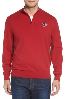Cutter & Buck Atlanta Falcons - Lakemont Regular Fit Quarter Zip Sweater