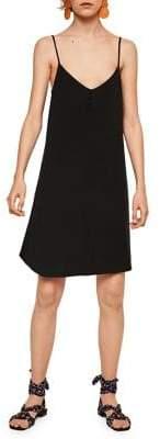 MANGO Chiara V-Neck Dress