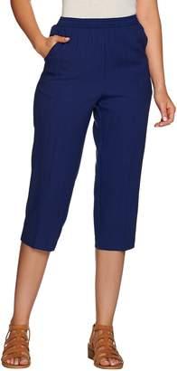 Denim & Co. Pull-on Capri Pants with Pockets
