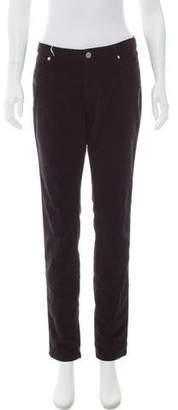 MAISON KITSUNÉ Mid-Rise Straight-Leg Jeans w/ Tags