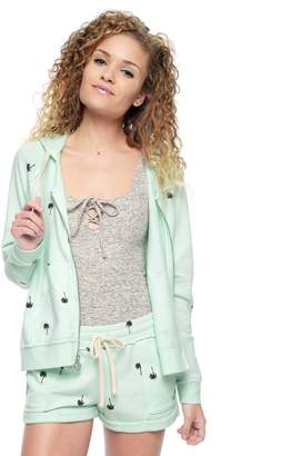 Juicy Couture Palm Tree Terry Hoodie