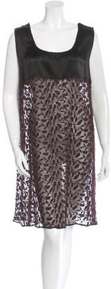 Jean Paul Gaultier Silk Shift Dress $125 thestylecure.com
