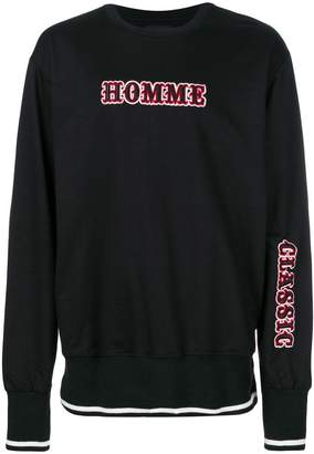 Not Guilty Homme Cirqus embroidered sweatshirt