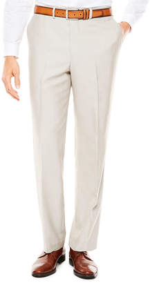 Jf J.Ferrar JF Men's Bone Shimmer Flat-Front Tapered-Leg Classic Fit Pants