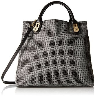Tommy Hilfiger Elaine Jacquard Tote $106.29 thestylecure.com