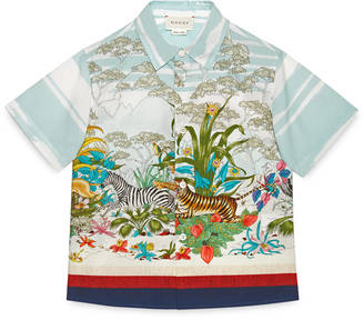 Children's Savannah print shirt $380 thestylecure.com