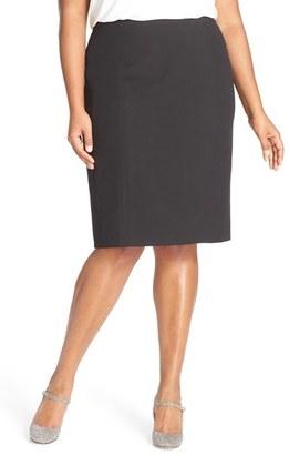 Plus Size Women's Sejour 'Ela' Suit Skirt $79 thestylecure.com