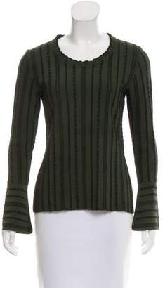 Fendi Striped Knit Sweater