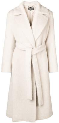 Salvatore Ferragamo double-breasted belted coat