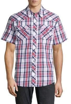 True Religion Western Check Shirt