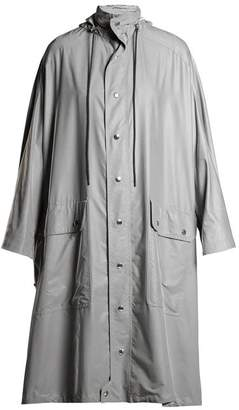 Balenciaga Opera Raincoat - Womens - Grey