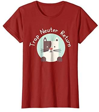 Trap Neuter Return Cute Kitty Cat T-Shirt