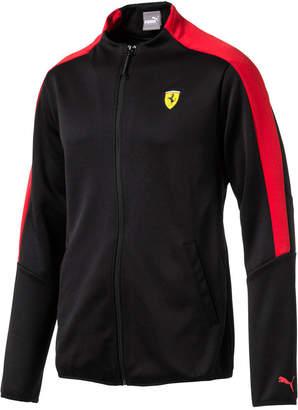 Puma Men's Ferrari T7 Track Jacket $90 thestylecure.com