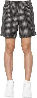 Alexander McQueen Skull Print Nylon Swim Shorts