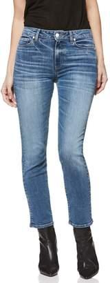 Paige Hoxton High Waist Ankle Straight Leg Jeans