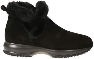 Hogan Slip On Ankle Boots