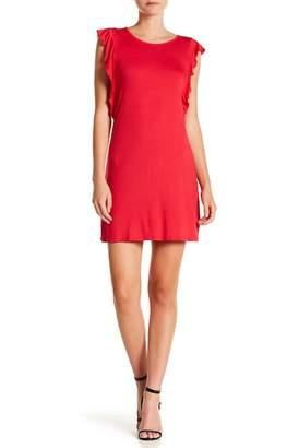 Loveappella Flutter Sleeve Dress